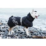 View Image 2 of Hurtta Drizzle Dog Raincoat - Raven