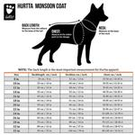 View Image 4 of Hurtta Monsoon Dog Coat - Bilberry