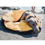 View Image 2 of Hurtta Outback Dreamer Dog Sleeping Bag - Orange Sun