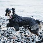 View Image 2 of Hurtta Rain Blocker Dog Coat - Raven