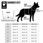 View Image 6 of Hurtta Swimmer Bug Blocker Dog Vest - Green Camo