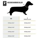 View Image 2 of Hurtta Weekend Warrior Dog Collar - Raven