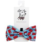 View Image 1 of Huxley & Kent Dog Bow Tie Collar Attachment - Mr Krabs