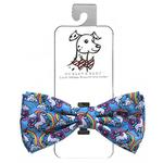 View Image 1 of Huxley & Kent Dog Bow Tie Collar Attachment - Magic Unicorn