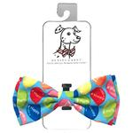 View Image 1 of Huxley & Kent Dog Bow Tie Collar Attachment - Happy