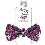 View Image 1 of Huxley & Kent Dog Bow Tie Collar Attachment - Pop Art