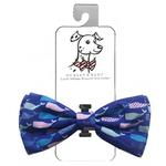 View Image 1 of Huxley & Kent Dog Bow Tie Collar Attachment - Whale Watch