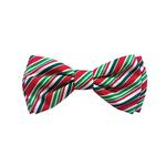 View Image 1 of Huxley & Kent Holiday Dog Bow Tie - Candy Cane
