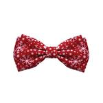 View Image 1 of Huxley & Kent Holiday Dog Bow Tie - Snowflake