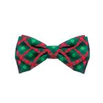 View Image 1 of Huxley & Kent Holiday Dog Bow Tie - Scottish Check