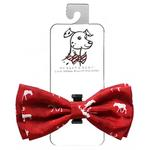 View Image 1 of Huxley & Kent Holiday Dog Bow Tie - Moose