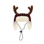 View Image 1 of Huxley & Kent Holiday Dog Hat - Buffalo Check