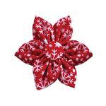 View Image 1 of Huxley & Kent Pinwheel Holiday Dog Collar Attachment - Snowflake