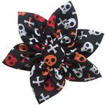 View Image 1 of Huxley & Kent Pinwheel Halloween Pet Collar Attachment - Skull and Bones