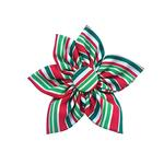 View Image 1 of Huxley & Kent Pinwheel Holiday Dog Collar Attachment - Candy Cane