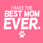 View Image 2 of I Have the Best Mom Ever Dog Hoodie - Pink