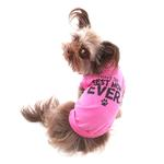 View Image 3 of I Have The Best Mom Ever Dog Shirt - Pink