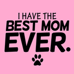 View Image 2 of I Have The Best Mom Ever Dog Shirt - Pink