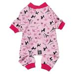 View Image 1 of I Love Paris Dog Pajamas - Pink