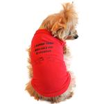 View Image 1 of I Suffer From Multiple Pet Syndrome Designer Dog Tank by Doggie Design