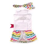 View Image 3 of Ice Cream Cart Dress with Matching Leash by Doggie Design