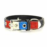 View Image 2 of Ice Cream Dog Collar - Patriotic Bone