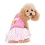 View Image 4 of Ice Cream Dog Dress by Dogo - Pink