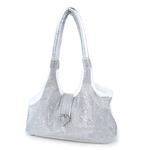 View Image 1 of Imperial Crystal Dog Carrier by Hello Doggie - Silver
