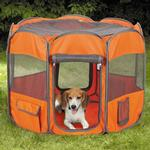 View Image 2 of Insect Shield Fabric Exercise Pet Pen - Carrot