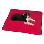 View Image 1 of Insect Shield Portable Pet Blanket - Red