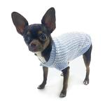View Image 1 of It's A Boy Dog Sweater By Truly Oscar - Blue