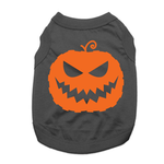 View Image 1 of Jack-O-Lantern Dog Shirt - Black