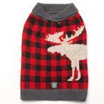 View Image 1 of Jackson Novelty Dog Sweater - Moose