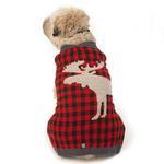 View Image 2 of Jackson Novelty Dog Sweater - Moose