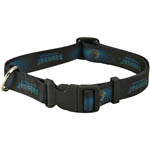 View Image 1 of Jacksonville Jaguars Dog Collar - Black