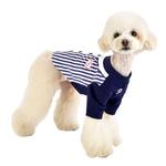 View Image 5 of Major Baseball Dog Jersey by Puppia - Navy