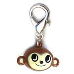 View Image 1 of Jingle Monkey Dog Collar Charm