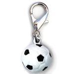 View Image 1 of Jingle Soccer Ball Dog Collar Charm