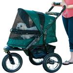 View Image 1 of Jogger No-Zip Pet Stroller - Forest Green