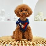 View Image 4 of Jolly Vest Dog Harness by Puppia - Navy