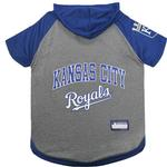 View Image 1 of Kansas City Royals Hooded Dog T-Shirt