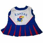 View Image 1 of Kansas Jayhawks Cheerleader Dog Dress