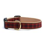 View Image 1 of New Red Plaid Dog Collar by Up Country