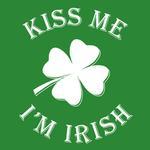 View Image 2 of Kiss Me I'm Irish Dog Shirt - Green