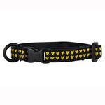 View Image 1 of Kitty Breakaway Cat Collar - Heart of Gold