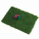 View Image 1 of KittyRageous Turfscratcher Cat Toy with Feather Ball