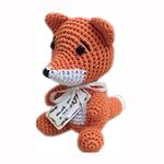 View Image 1 of Knit Knacks Kit the Fox Dog Toy