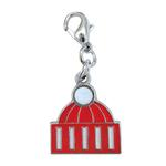 View Image 1 of Knit Winter Cap Enamel Dog Collar Charm by Klippo