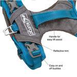 View Image 3 of Kurgo Journey Air Dog Harness - Coastal Blue