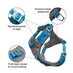 View Image 2 of Kurgo Journey Air Dog Harness - Coastal Blue